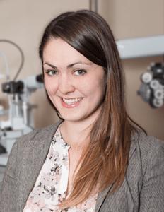 Dr. Andrea Lasby Mission Eye Care Calgary Optometrist, F.A.A.O., F.S.L.S.